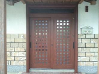 玄関引き戸リフォーム施工例