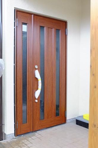 玄関ドア 1日リフォームの工事の流れ4