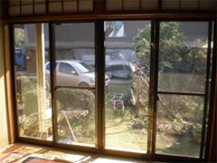 樹脂製内窓 二重窓  施工前