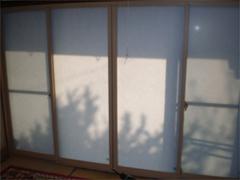 樹脂製内窓 二重窓  施工後