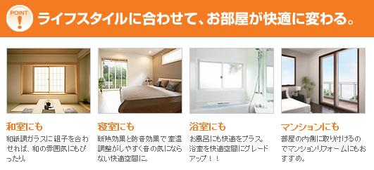 ライフスタイルに合わせて、お部屋が快適に変わる。